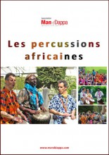 Affiche du spectacle Les percussions africaines